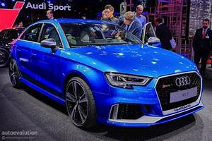 Audi Rs3 Sedan : 2017 audi rs3 sedan drops by the 2016 paris motor show autoevolution ~ Medecine-chirurgie-esthetiques.com Avis de Voitures