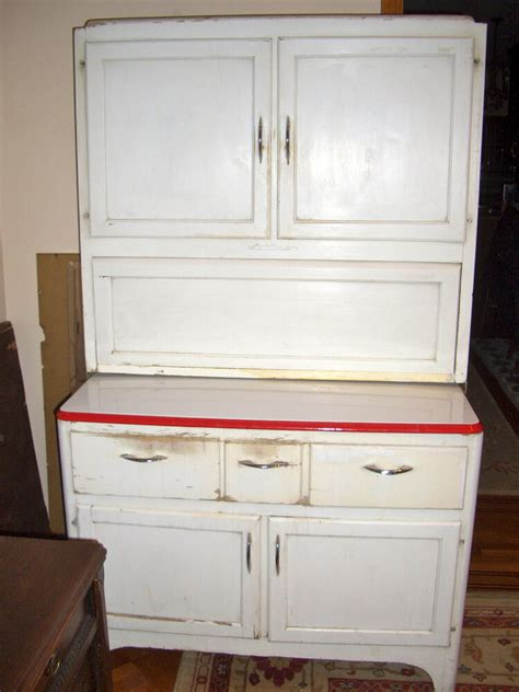 antique vintage sellers kitchen hoosier cabinet ebay