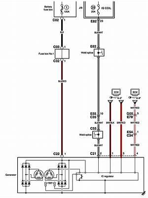 suzuki forenza alternator wiring diagram  auto wiring