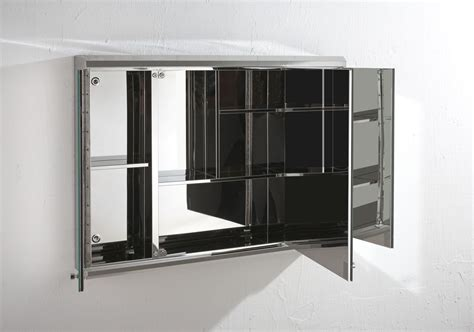 Bathroom Wall Cabinets With Mirror by 800mm Wide Door Large Biscay Wall Mount Mirror