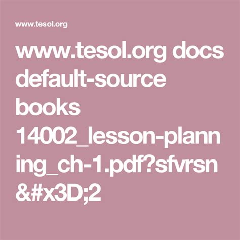wwwtesolorg docs default source books lesson