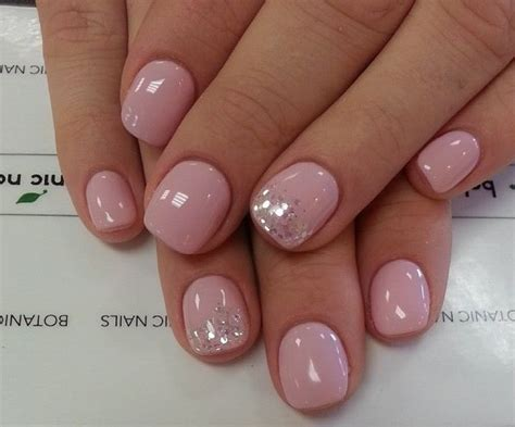 Light Pink Nail Art Designs