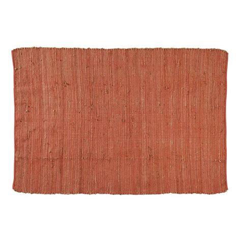 tapis rouille lodge 160x230 maisons du monde