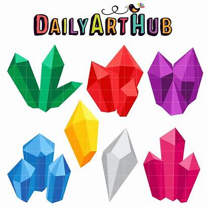 Crystal Gems Clip Fairytales Fantasy