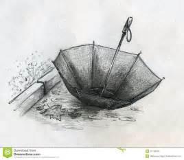 Umbrella Drawing Sketch