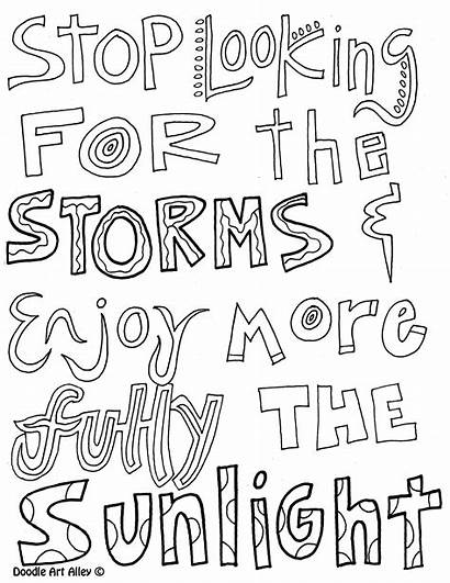 Coloring Pages Quotes Motivational Quotesgram