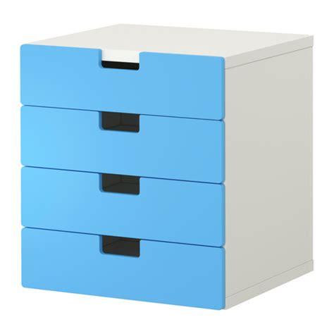 stuva combinaison rangement tiroirs blanc bleu ikea