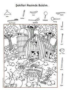 printable hidden pictures puzzle