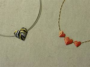 Origami Maniacs: Origami Heart Necklace By Francis Ow