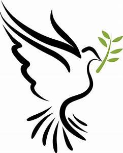 Descending dove clipart christian dove symbol a dove the ...