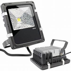 W high power led flood light with aluminium heat sink in