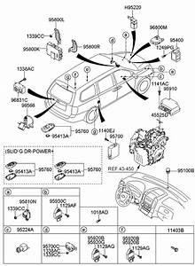 2012 Kia Sedona Relay  U0026 Module