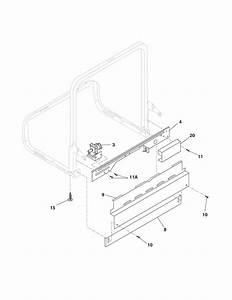 Frigidaire Fdb520rhs0 Dishwasher Parts