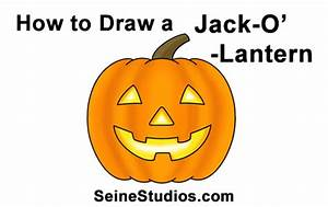 How To Draw A Halloween Pumpkin Jack Ou002639 Lantern