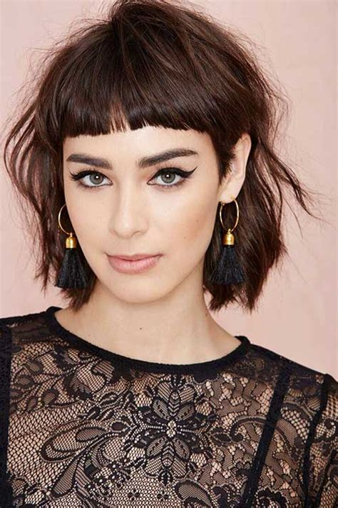 10 cute simple hairstyles for short hair short hairstyles 2017 2018 most popular short