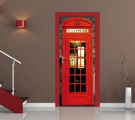 cabina telefonica papel pintado  las puertas mural