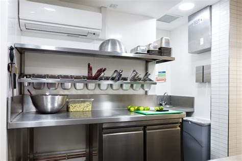 small commercial kitchen design double deep fry char grill
