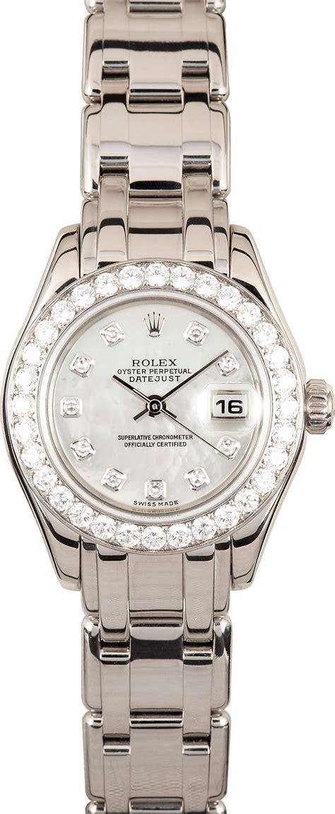 Rolex Ladies DateJust Pearlmaster 80299 - Save 50% at Bob ...