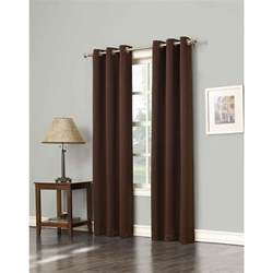 sun zero blackout gavin 63 in l blackout curtain panel in
