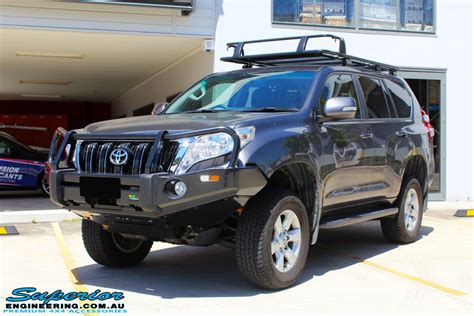 toyota  series landcruiser prado wagon grey