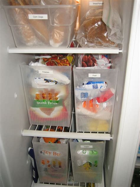 Organization Containers by 57 Best Freezer Org Images On Fridge