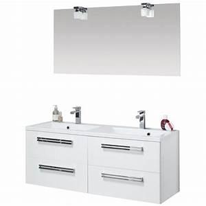 meuble sous vasque seducta 120 cm 4 tiroirs blanc brillant With meuble sous vasque 120