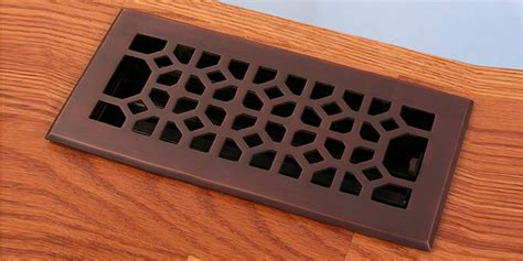 Rubbed Bronze Floor Registers by Rubbed Bronze Finish Legacy Classic Floor Registers