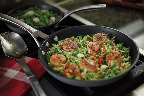 signature calphalon cookware nonstick piece anodized shipped omelette regularly amazon quart pan inch hip2save