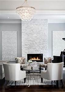 stacked fireplaces for a warm and modern look of the