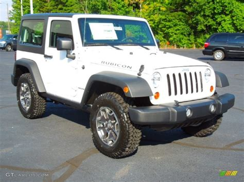 jeep rubicon white interior 2013 bright white jeep wrangler rubicon 4x4 70687755