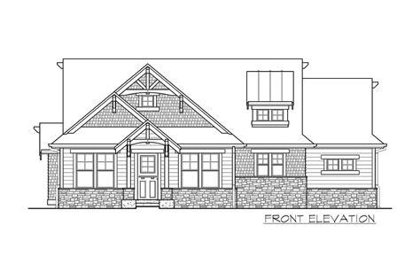 plan jd high  craftsman getaway craftsman house craftsman small house plans