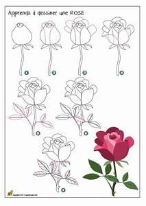 les 25 meilleures idees concernant dessiner une rose sur With affiche chambre bébé avec bouquet de fleurs avec macarons