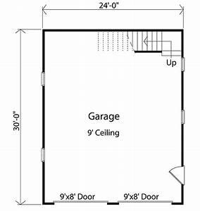 Detached Garage With Loft