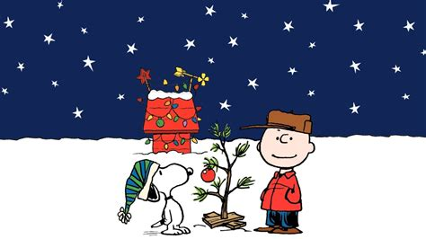 charlie brown christmas tree wallpaper