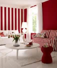 schlafzimmer farben feng shui einrichten streifen look in rot weiß bild 13 schöner wohnen