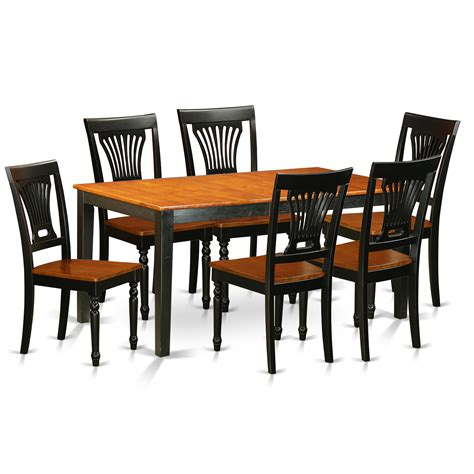 kitchen furniture sets east nicoli 7 dining set wayfair