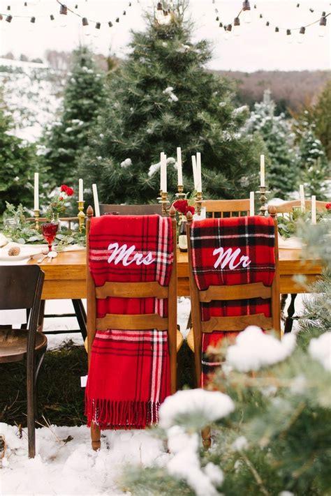 stunning christmas themed winter wedding ideas page