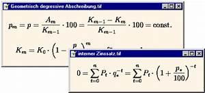 Zins Berechnen Formel : finanzmathematische funktionen access im unternehmen ~ Themetempest.com Abrechnung
