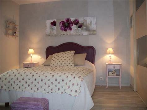 chambre style romantique deco de chambre d adulte romantique visuel 6