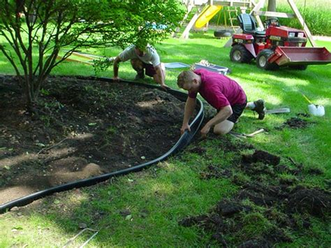 how to install lawn how to install landscape edging landscape edging idea of beauty garden newton villages