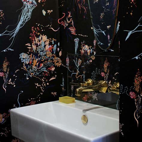 jellyfish wallpaper black  patterns