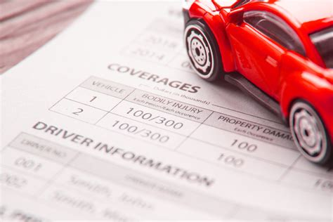 Need a certificate of insurance (coi)? Car insurance policy showing driver information free image download