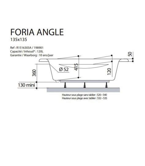 Baignoire D Angles by Baignoire D Angle Foria Angle Aquarine Pour Sanitaires