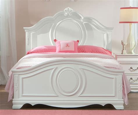 white wooden headboard standard furniture size panel bed