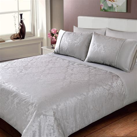 Duvet Set by Jacquard Damask Duvet Set Bedding Duvet Sets