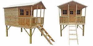 Maisonnette En Bois Sur Pilotis : maisonnette en bois pour enfants sur pilotis en forme ~ Dailycaller-alerts.com Idées de Décoration