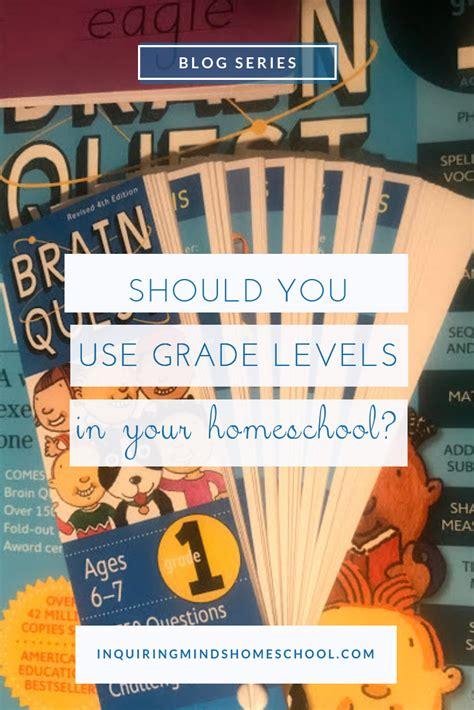 grade levels   homeschool
