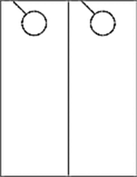 4 25 X 11 Door Hanger Template by 4 25 Quot X 11 Quot Door Hangers Printable Door Hangers Ol245