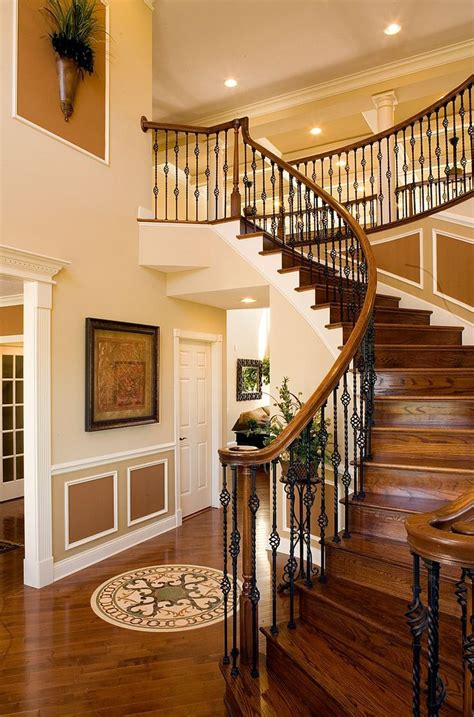 image result  toll brothers open floor plan  story stairs design staircase design
