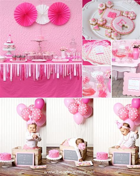 1st birthday kara 39 s party ideas pretty in pink 1st birthday party kara 39 s party ideas